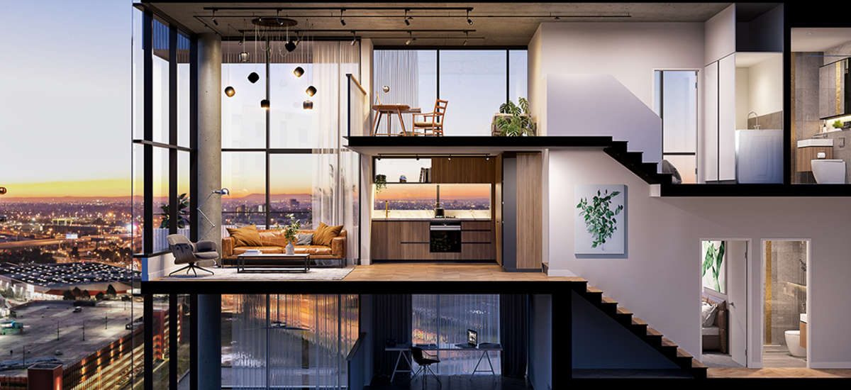 We Expect The Variety Of Apartment Sizes And Shapes Not To Mention Inherent Flexibility Loft Soho Offerings Eal Young Gen Y S