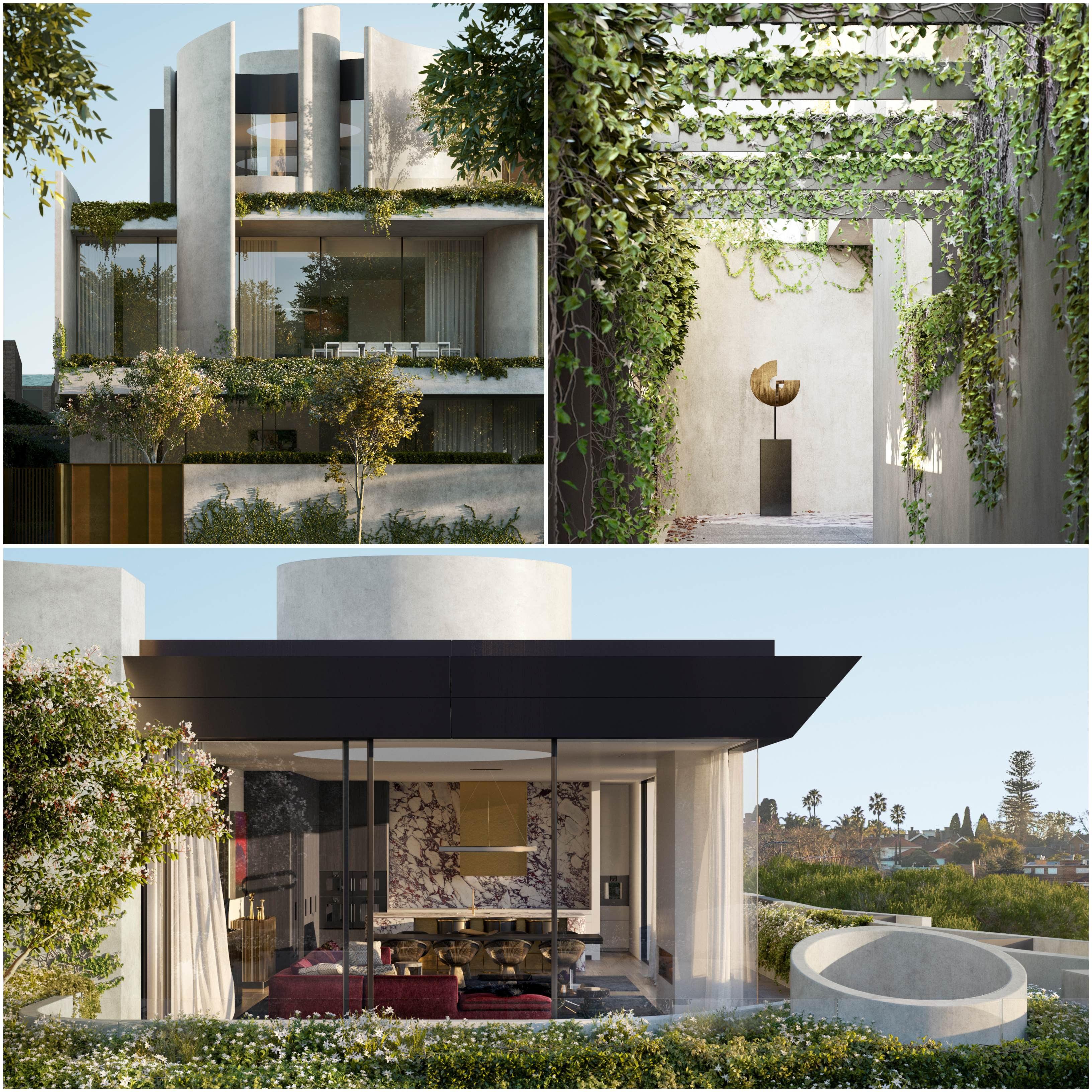 146 Toorak Road West: Beulah's latest South Yarra offering Fawkner House will incorporate a water feature, gardens, long vistas and a three-story entry.