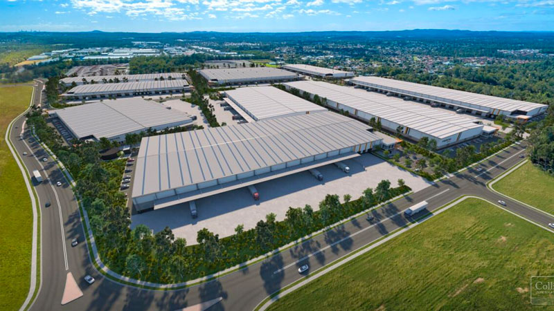▲ The site will now be developed into the Mapletree Logistics Estate with construction commencing and delivery expected last quarter 2021.