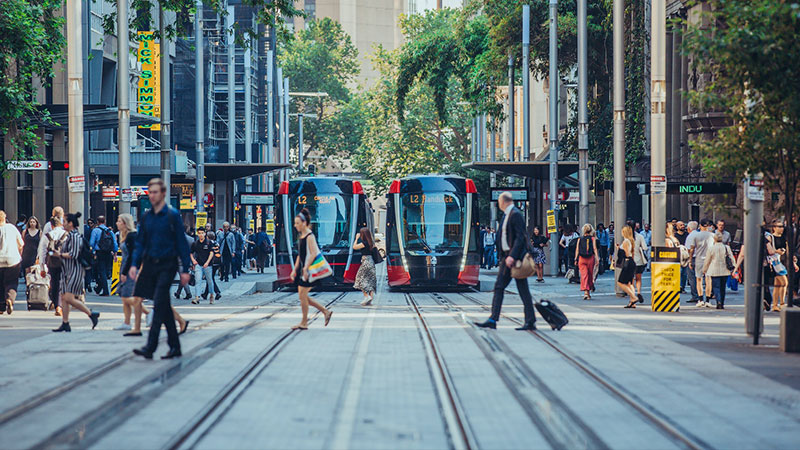 CBD and South East Light Rail | Grimshaw with ASPECT Studios in collaboration with the City of Sydney, on behalf of Transport for NSW, supported by Randwick City Council
