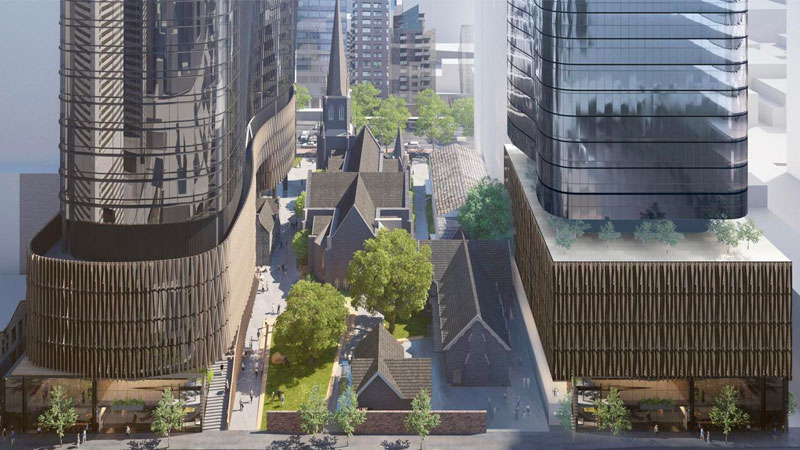 ▲ Charter Hall's latest approval will complement its 150 Lonsdale Street property as part of its $600 million Wesley Place development.
