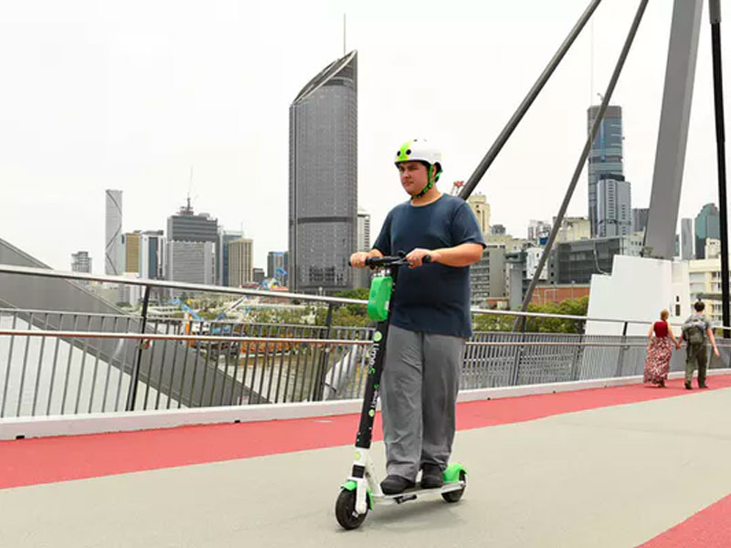 For only a few dollars, an e-scooter can get you from Brisbane CBD to South Bank in a matter of minutes.