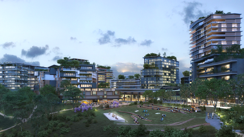 ▲ The Esplanade Ripley Town Centre. Artist Impression subject to change and Council approval