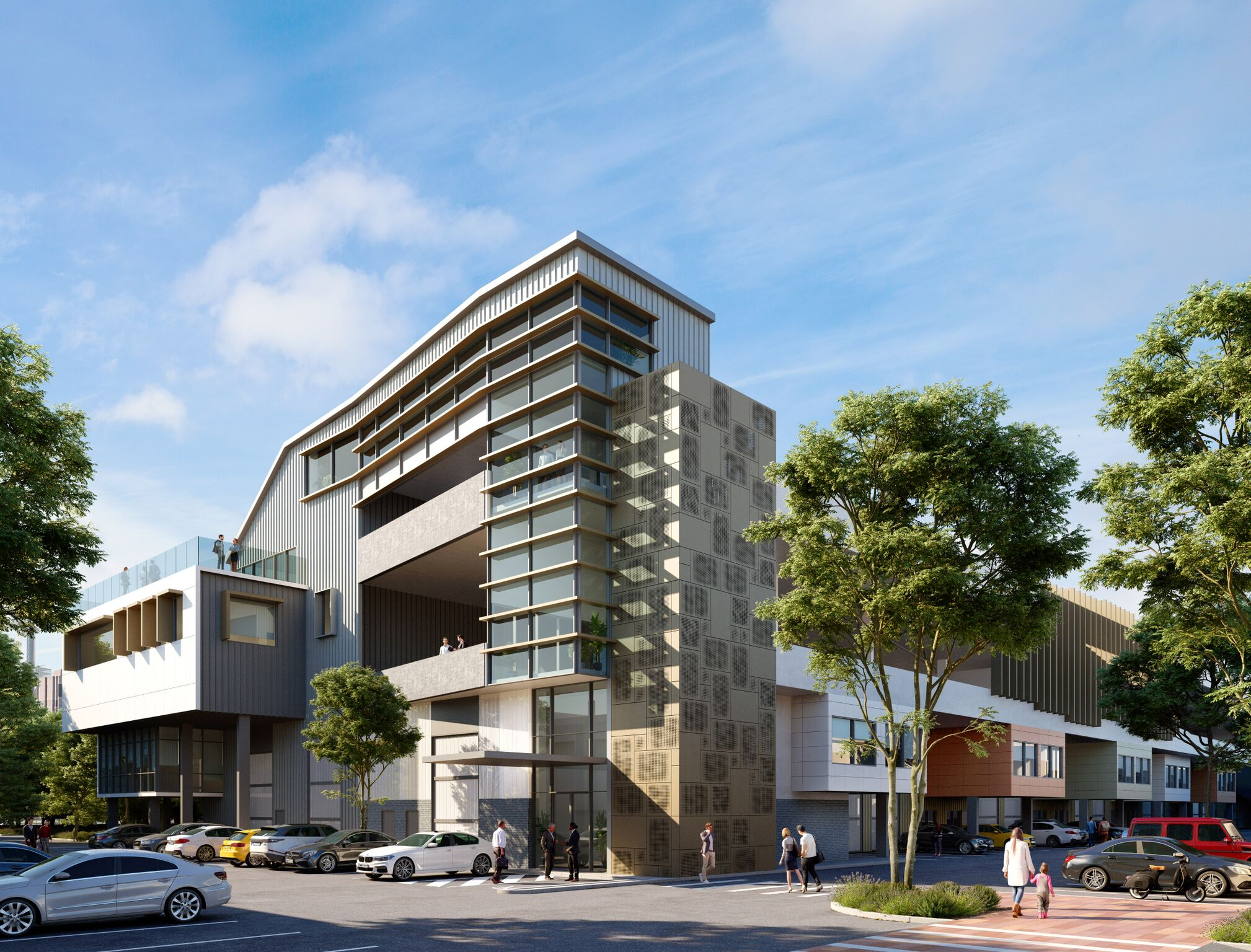 Dexus acquired the site in the Botany Lakes Business Park for $153.5 million in early 2015.
