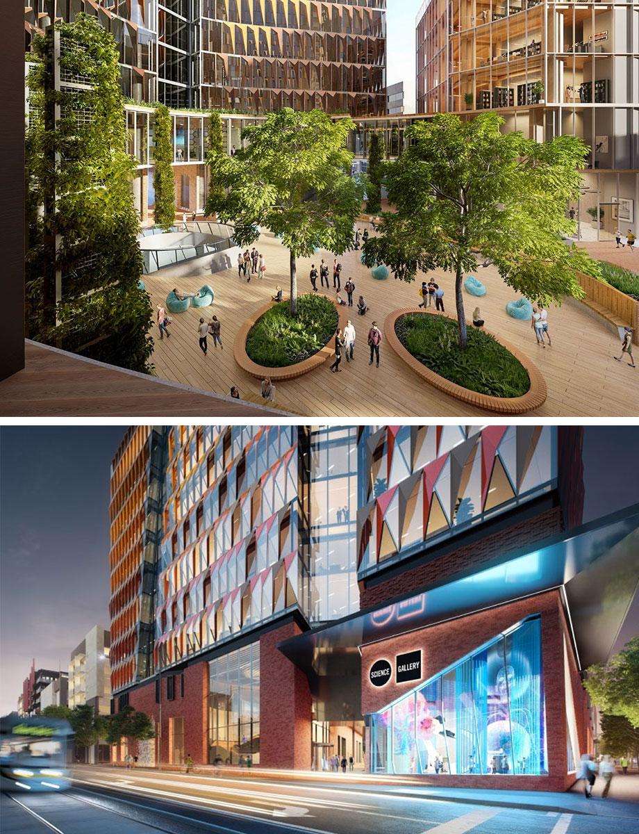 Construction is under way on Melbourne connect project