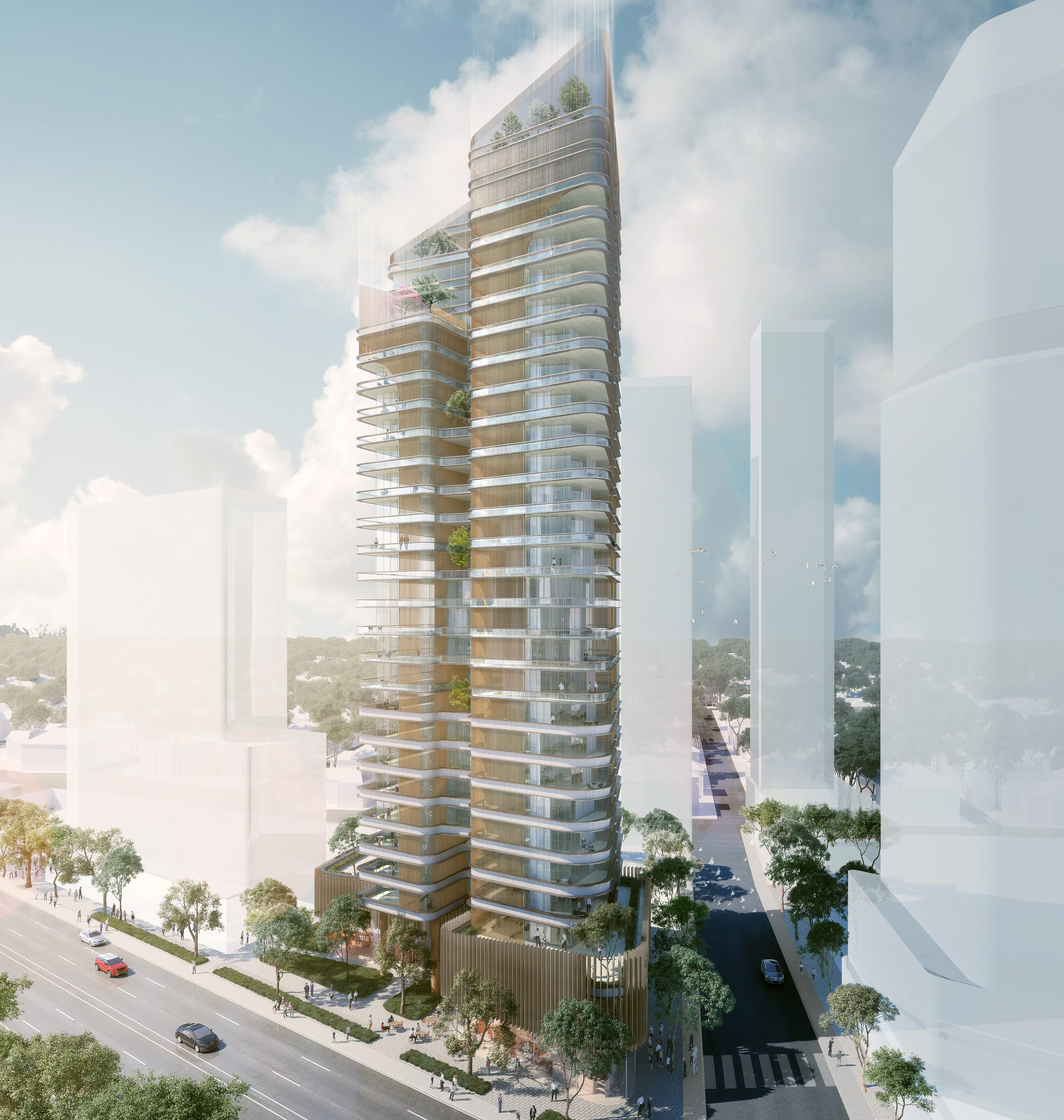 Developer Goldfields has been approved for its $175m residential tower in Chatswood.