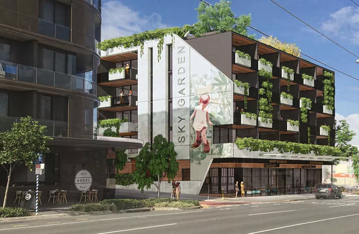 A five level mixed-use development project in Brisbane's inner city will incorporate built-to-rent according to plans lodged by Brisbane-based development company Property Projects Q.
