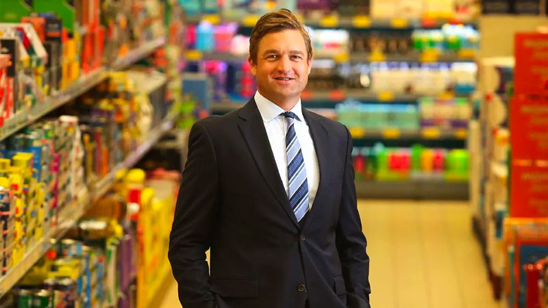 ▲ Aldi Australia chief executive Tom Daunt revealed that his chain recorded $9.2 billion in sales last year, giving it a 10.6 per cent market share of Australia's grocery market.