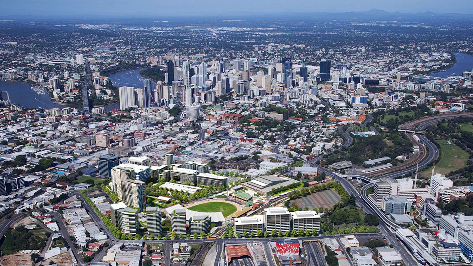 Major development projects Brisbane RNA Showgrounds Lendlease
