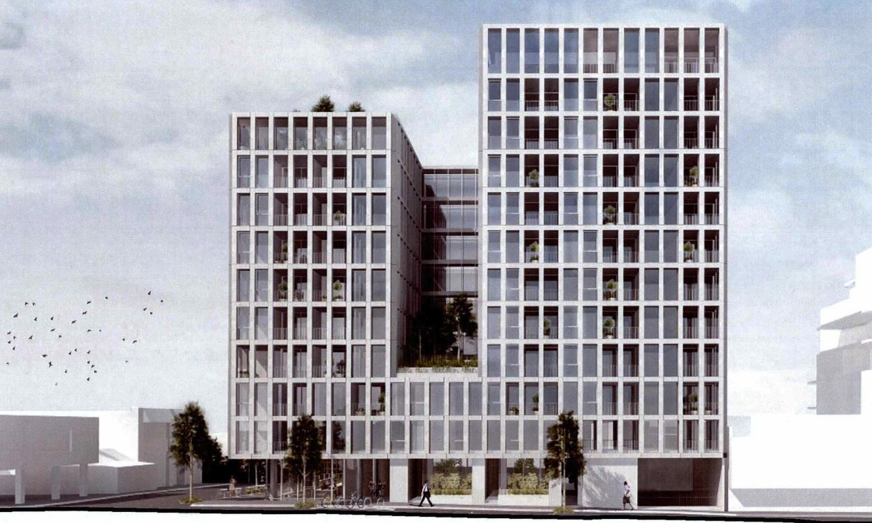 2-8 Brighton Street will be split across three towers sitting on top of a two-storey podium