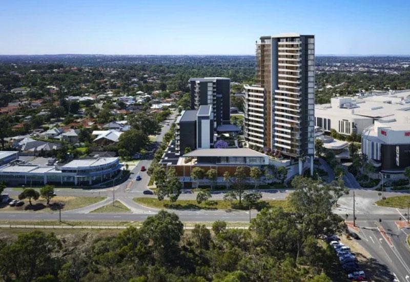 Karrinyup shopping centre residential development