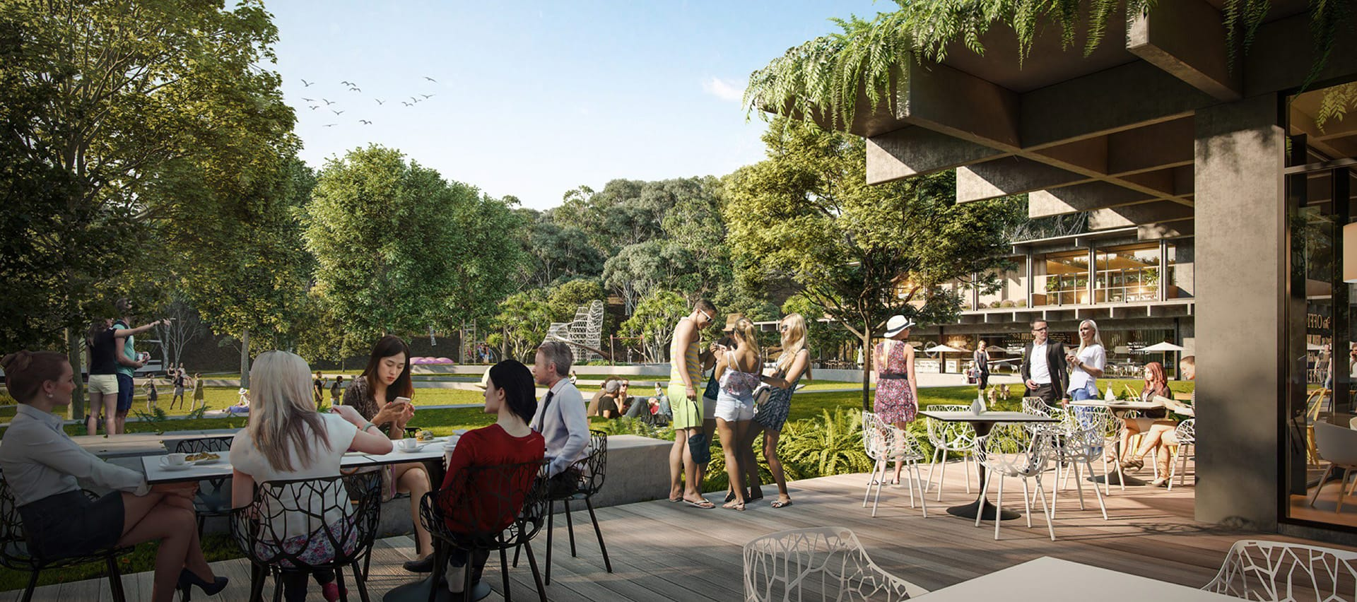 Architecture firm Hassell was appointed to undertake the masterplanning of the 19-hectare Yaroomba Beach site.