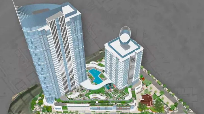 ▲ Civic Heart in Perth overall design.