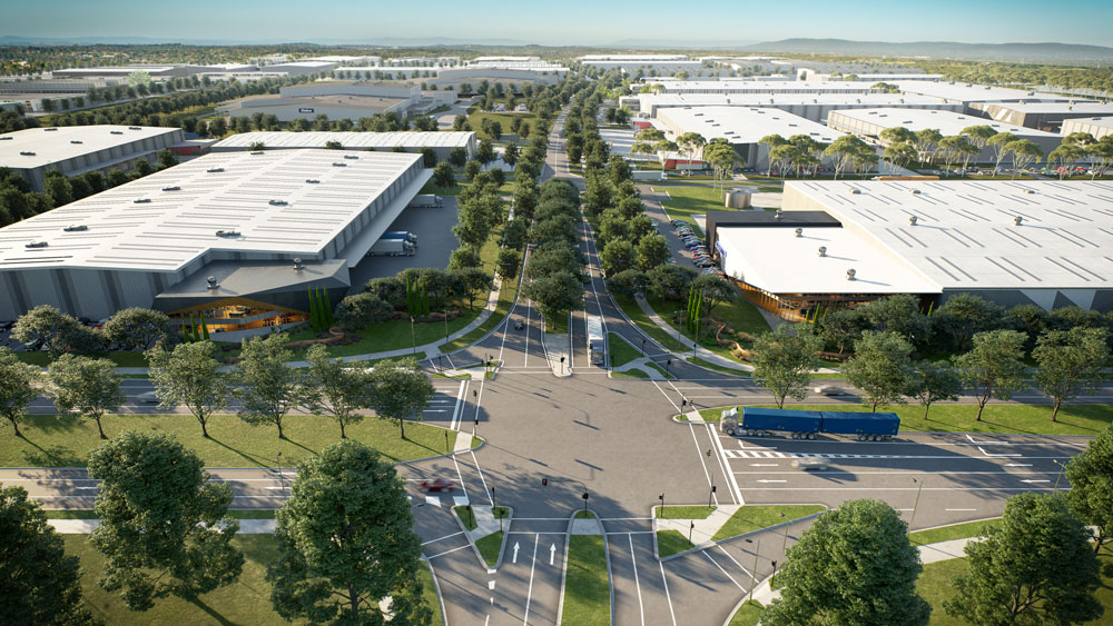 Kaufland has purchased a large 28-hectare site at Merrifield Business Park in on which it plans to construct a 110,000sq m distribution centre that will service their stores.