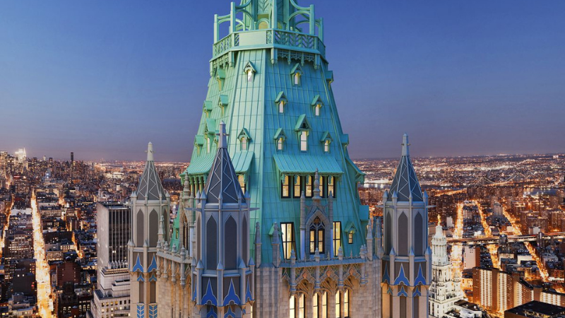 ▲ Woolworth Tower Residences, New York. Image: Curbed NY