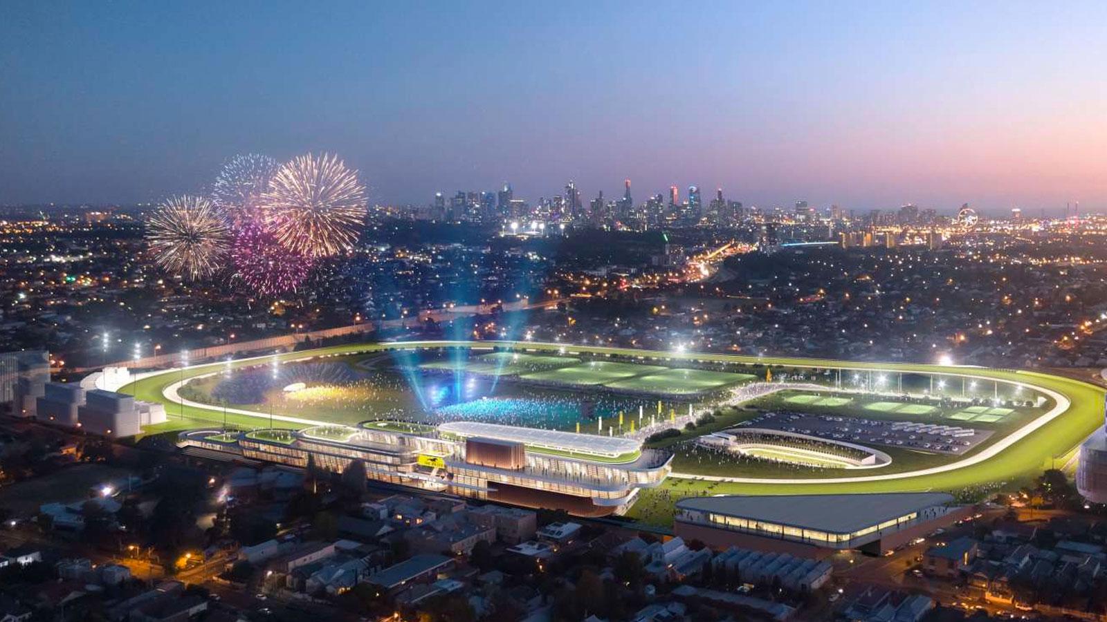 $2bn Moonee Valley Racecourse Regeneration