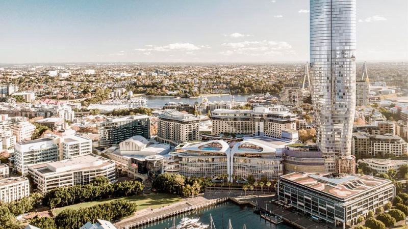 ▲ The NSW Independent Planning Commission has rejected the Star casino's plans for a 220-room hotel and luxury apartment tower in Pyrmont.