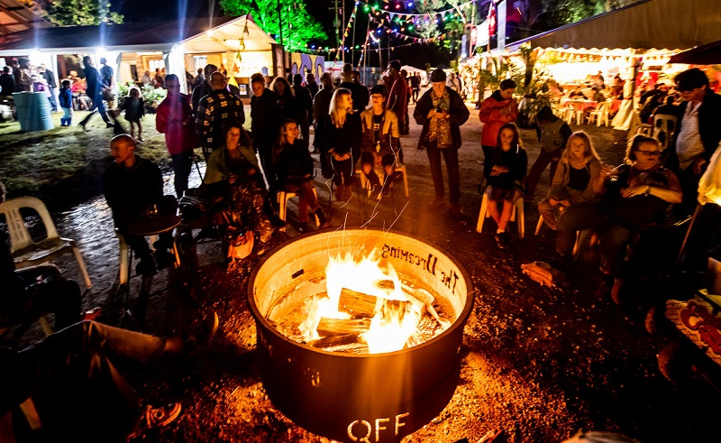 ▲ Woodford Folk Festival organisers were looking at adding year-round campground to diversify their income stream like other Australian arts and entertainment organisations.