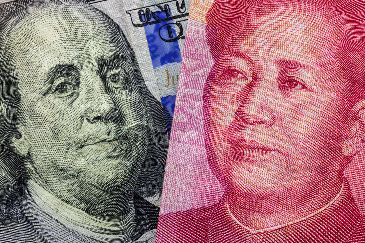 The rise of China in competition with the US has ensured that security risks continue to threaten global economic stability.