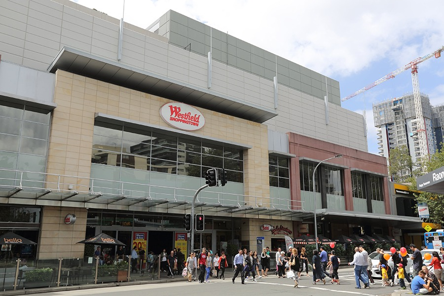 Scentre has sold a 50 per cent stake in Sydney's Westfield Burwood (pictured).