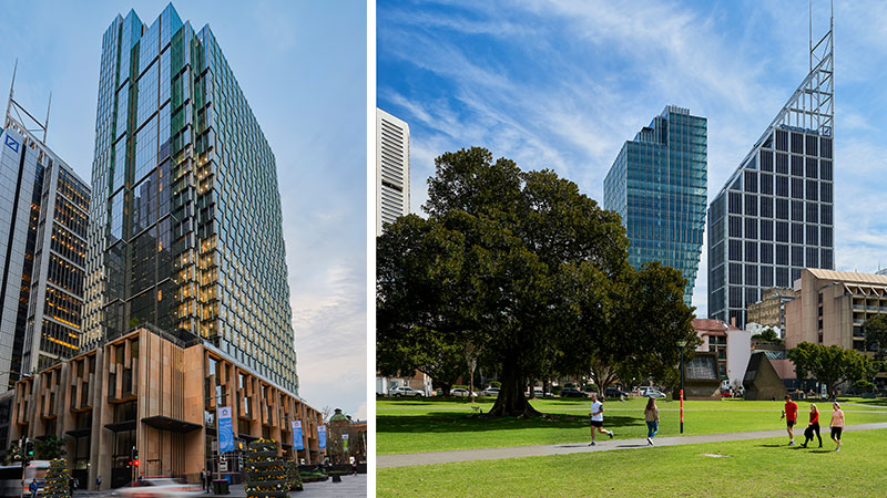 Investa Commercial Property Fund and Gwynvill Group's have reached practical completion on the Hassell designed 60 Martin Place.
