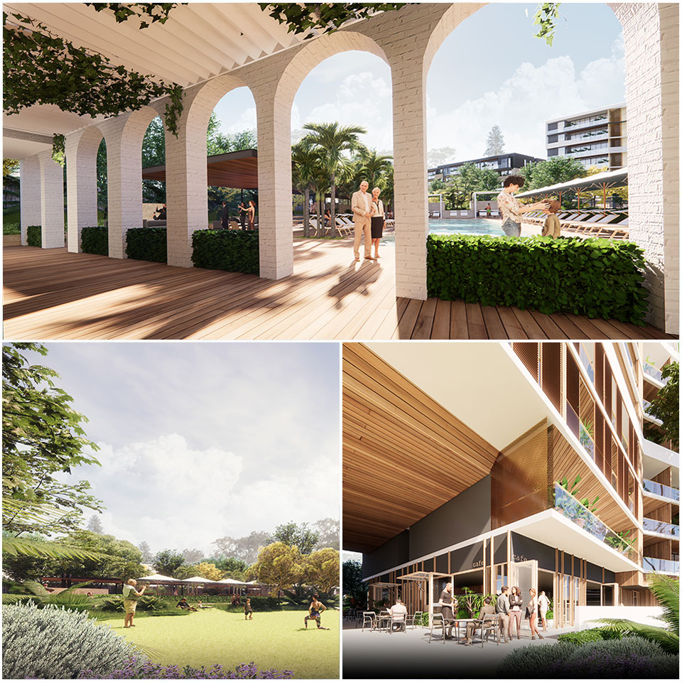 ▲ If approved, Blackburne is hoping to commence construction in early 2021, creating 400 jobs in the process. Image: MJA Studio