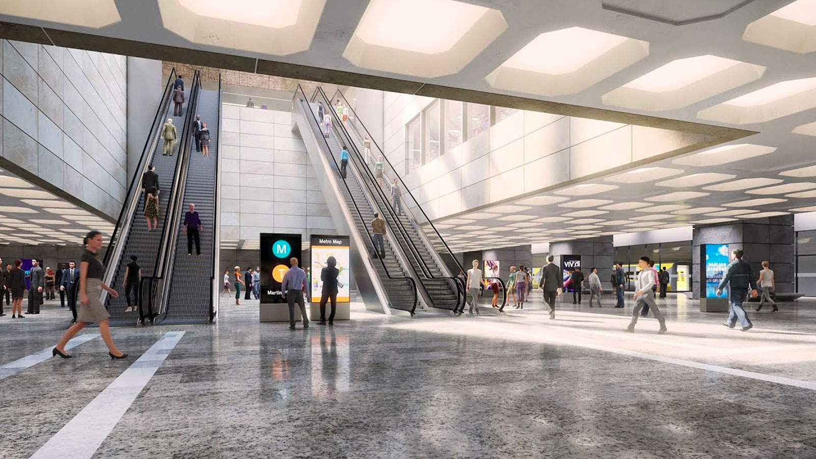 Sydney Metro Martin Place Station Proposal