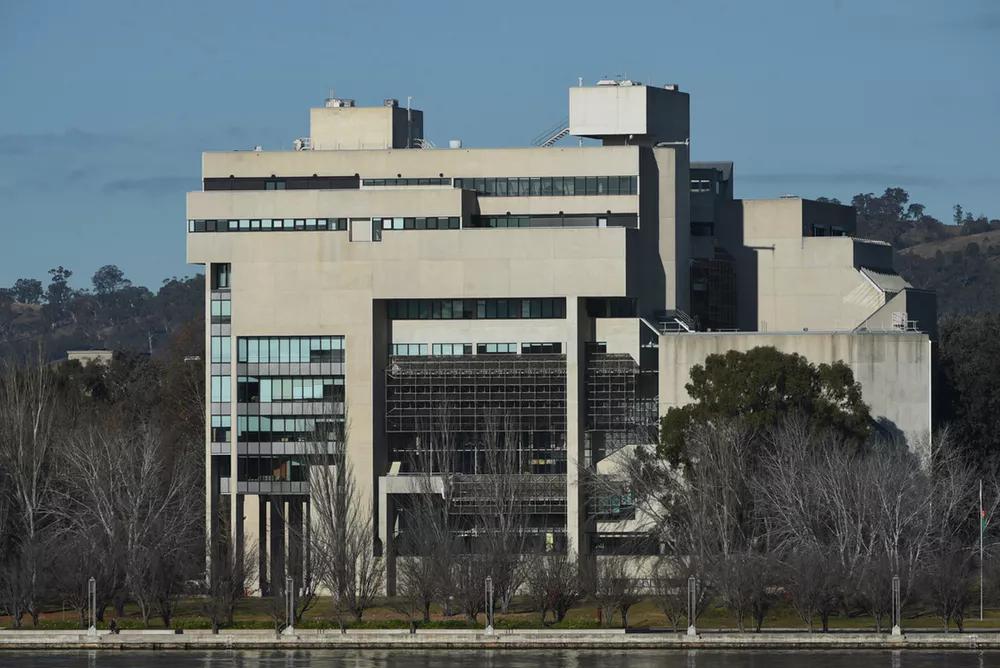 Australia's High Court: a brutalist classic. Mick Tsikas