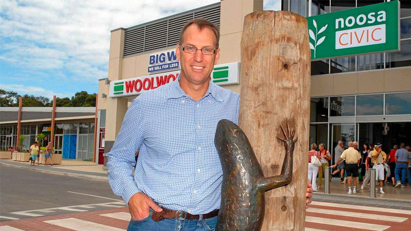 ▲ Stockwell — the family property company founded by Bill and Necia Stockwell and now run by their son Mark — was the original developer of Noosa Civic before its purchase by QIC.