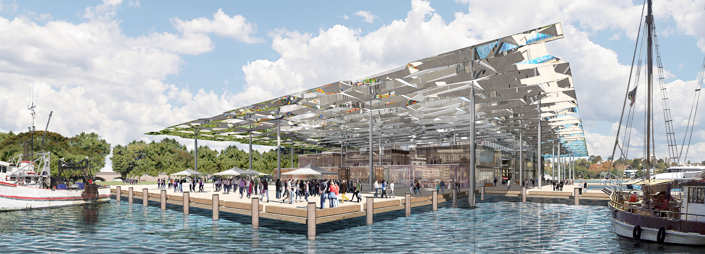 "Allen Jack+Cottier last year took out the ""Masterplanning – Future Projects"" category for the Sydney Fish markets at the prestigious World Architecture Festival."