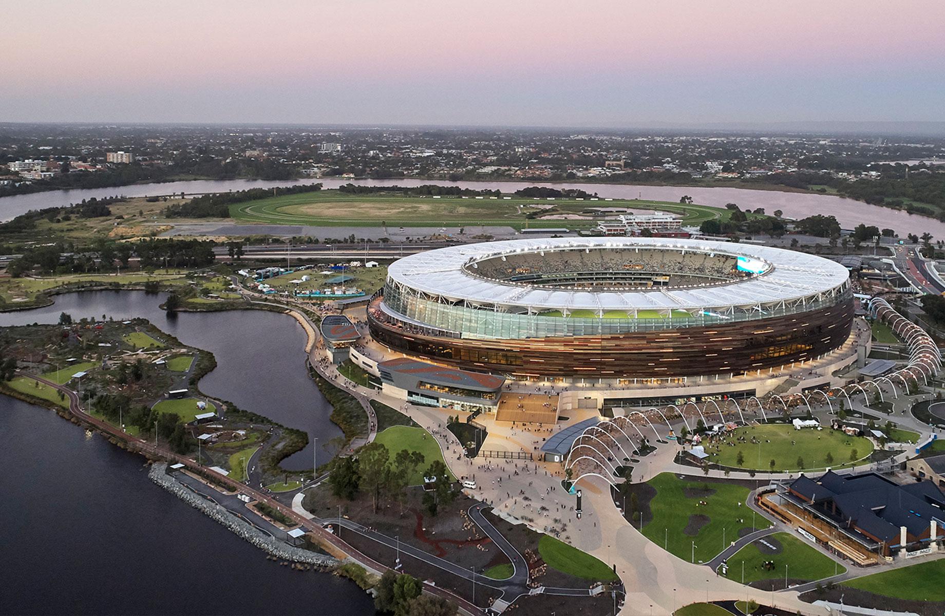 Optus Stadium Park (WA) - HASSELL