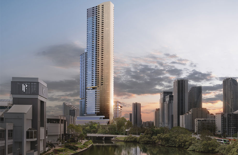 """▲ The second tower, """"The Star Residences Gold Coast"""". Image: supplied."""