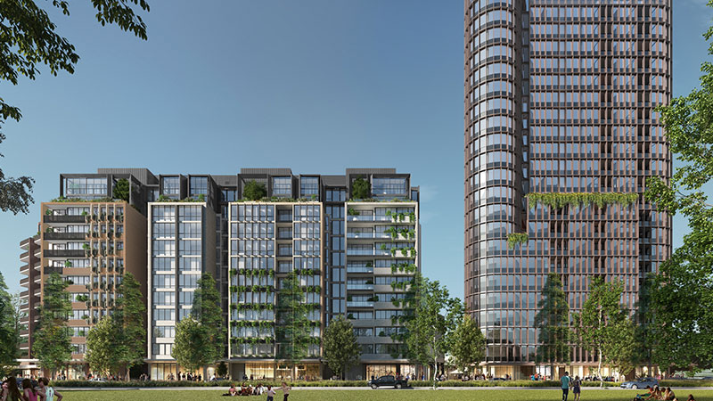 The latest approved project spans a 5900sq m site in Green Square.