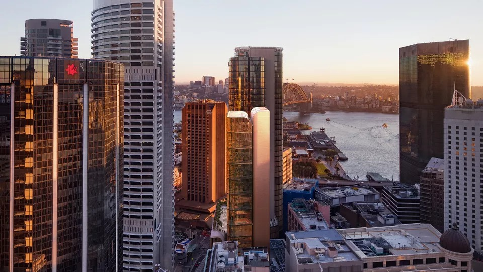 Poly is offering a 49 per cent stake in its Grimshaw-designed Circular Quay tower.