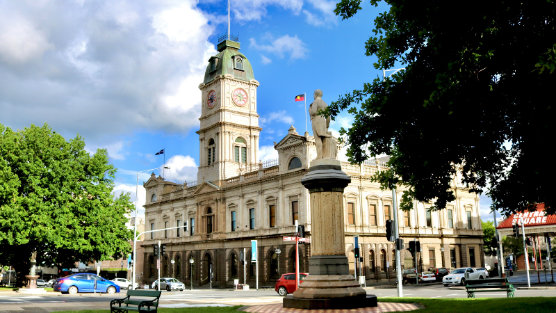▲ Ballarat is Victoria's third-largest city and has become a commutable satellite city. Image: istock