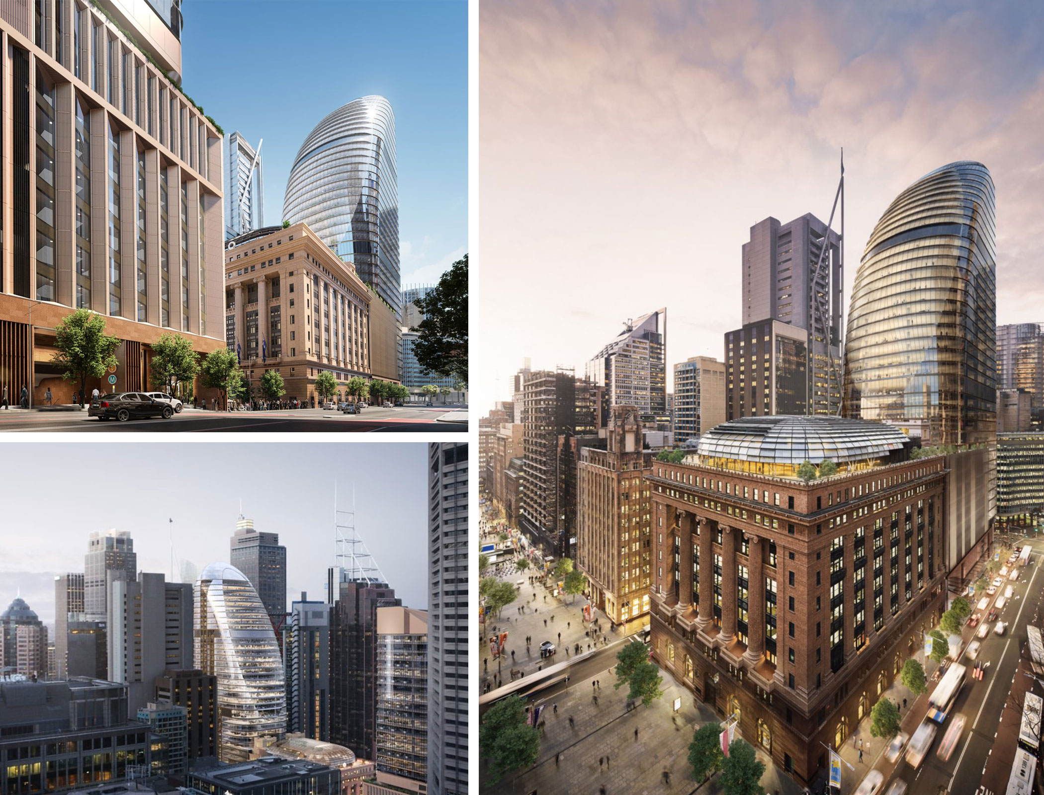 Macquarie will restore the historic 50 Martin Place building, which will be integrated into the precinct.