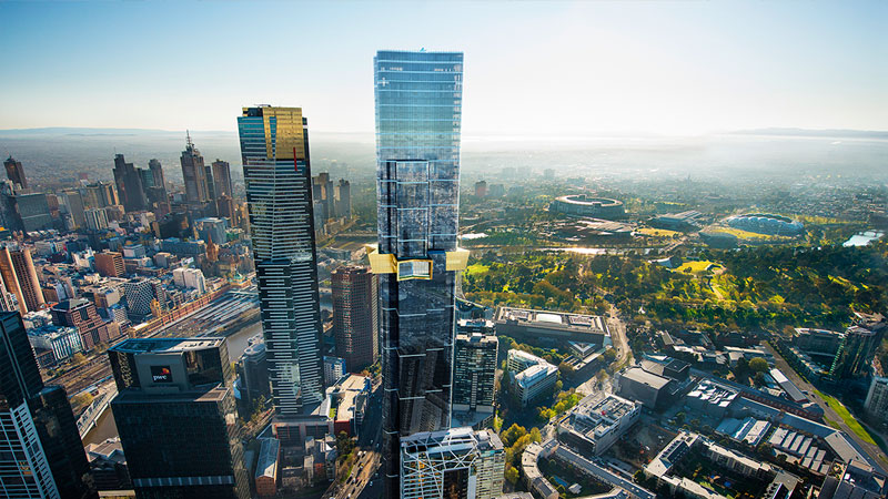 Melbourne major development projects Australia 108 by World Class Global