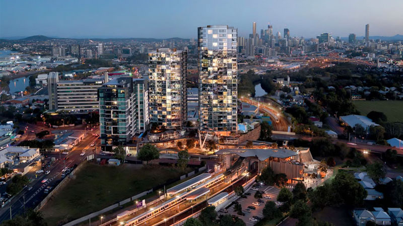 Brisbane's 0m Albion Exchange major development project