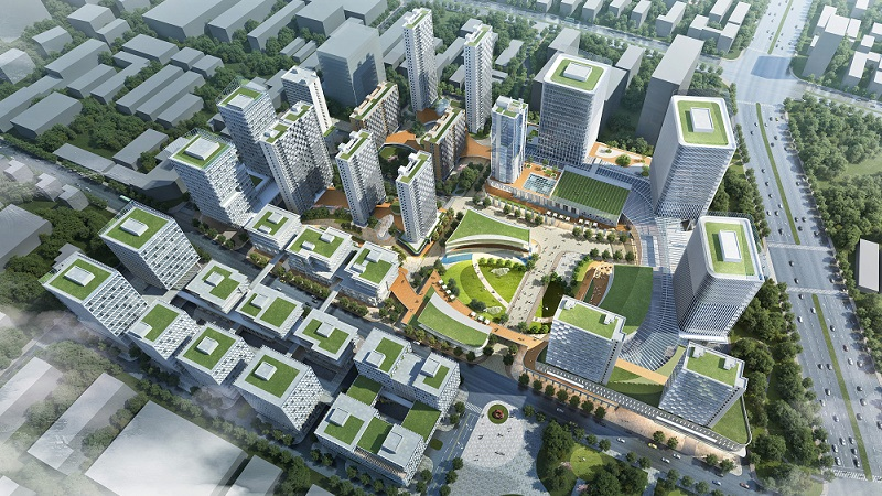 ▲ Hongkong Land Holdings Limited already have the Caohejing project in Shanghai on an 11.83-hectare site.