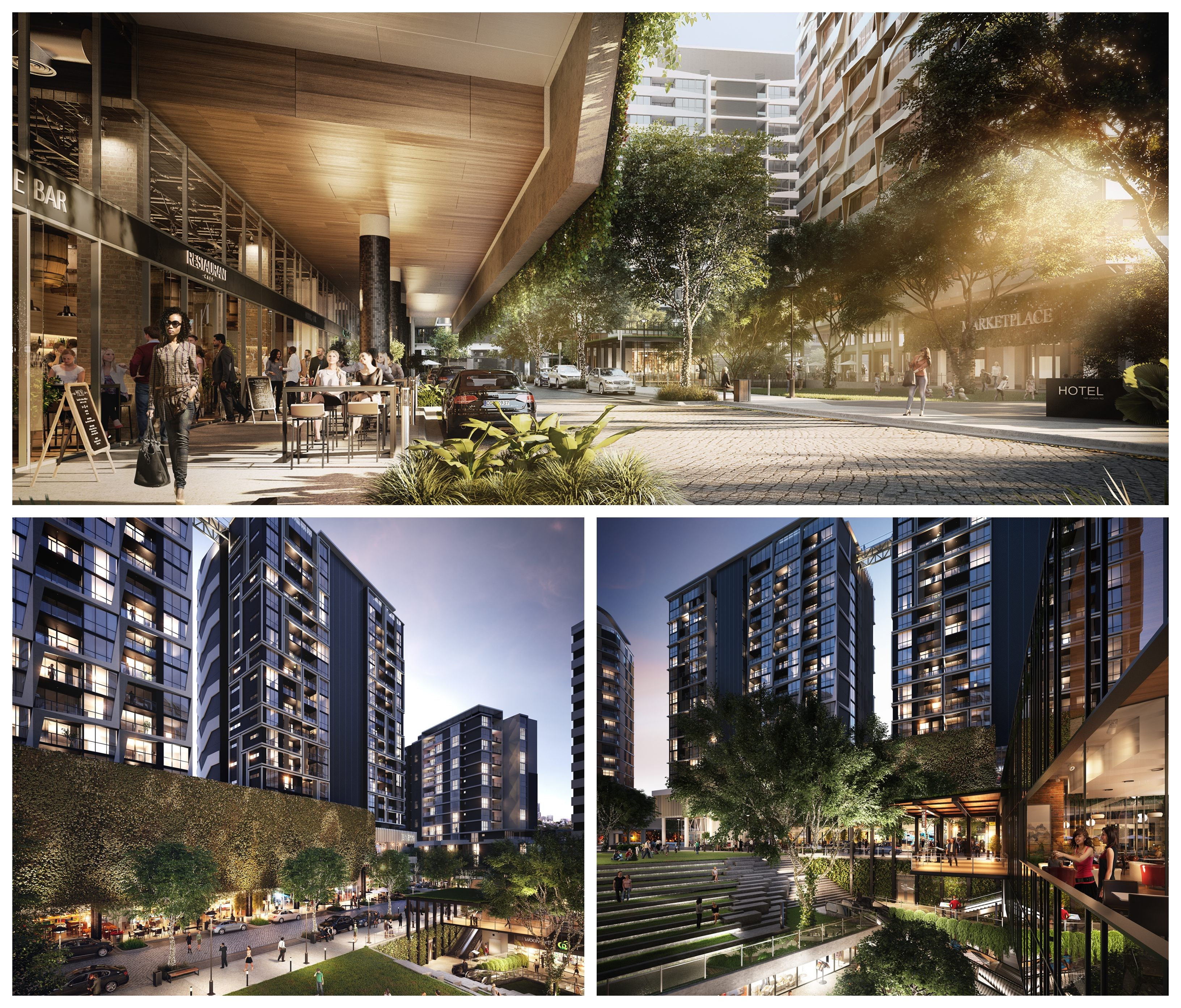 Brisbane South City Square will comprise 850 apartments when finished.