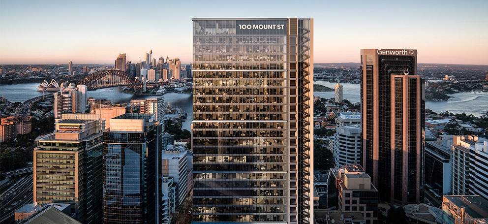 Dexus' 100 Mount Street will bring 4000 workers to Sydney's North Shore.