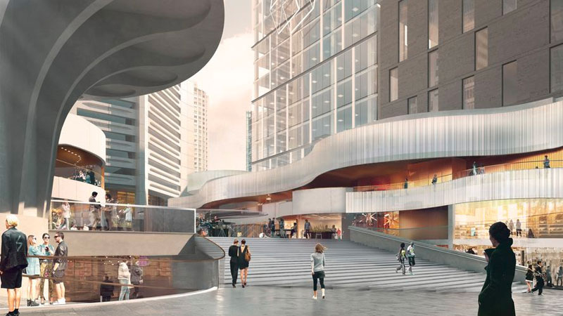 Construction has begun on a $170 million project to redevelop the Harry Seidler designed MLC Centre in central Sydney.
