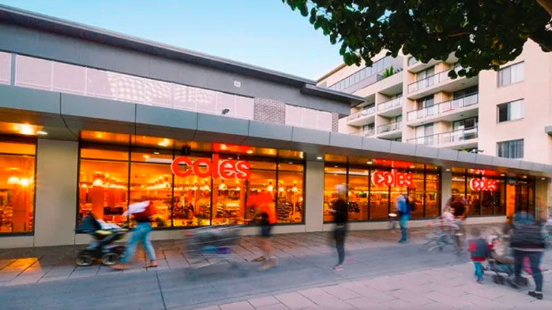 ▲ The centre offers a WALE of 7.2 years, headlined by a Coles supermarket on a lease to 2030 with two 10-year options.