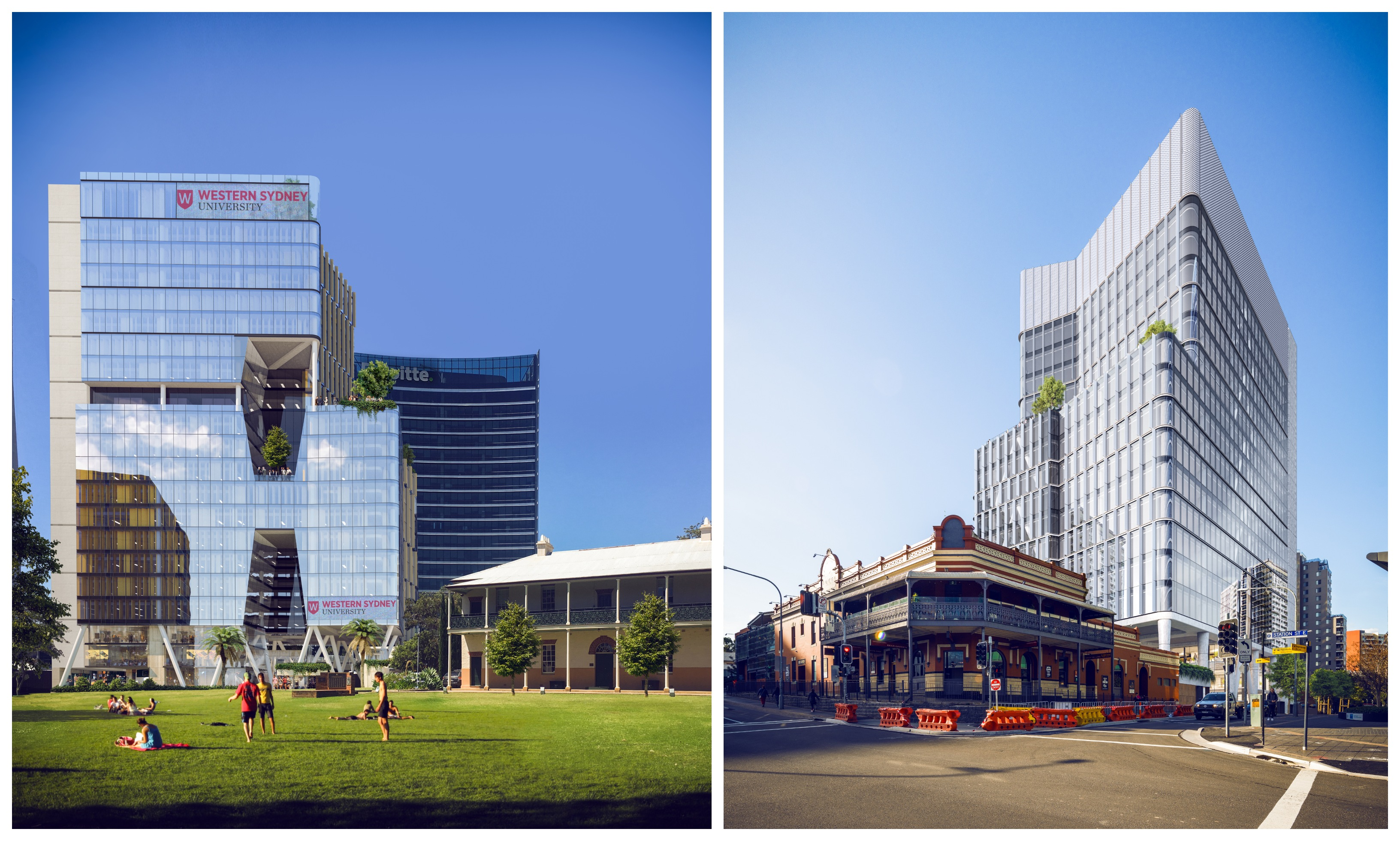 ▲ Earlier this year, design team Tzannes + Blight Rayner Architecture won the design competition to create the Engineering Innovation Hub which will be located in the heart of Parramatta's CBD. Image: Tzannes and Blight Rayner Architecture