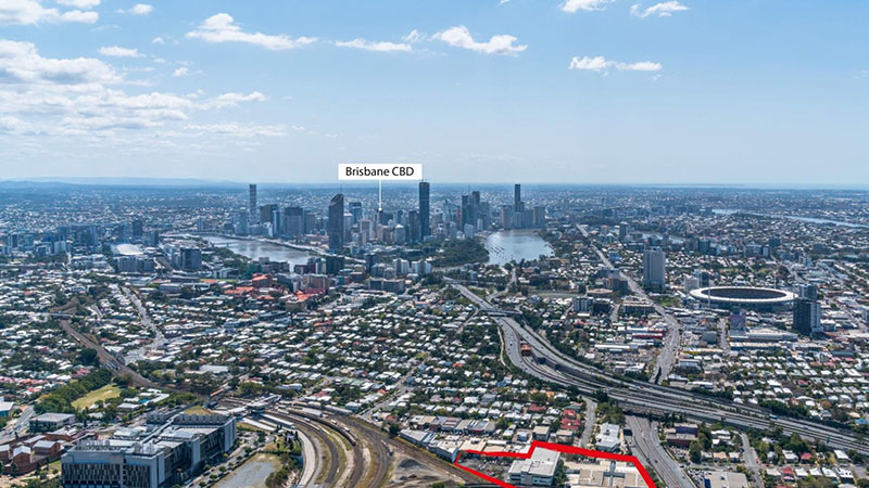 ▲ The 1.5 hectare Woolloongabba 2 Burke Street site comprising two buildings, has sold for $80.2 million
