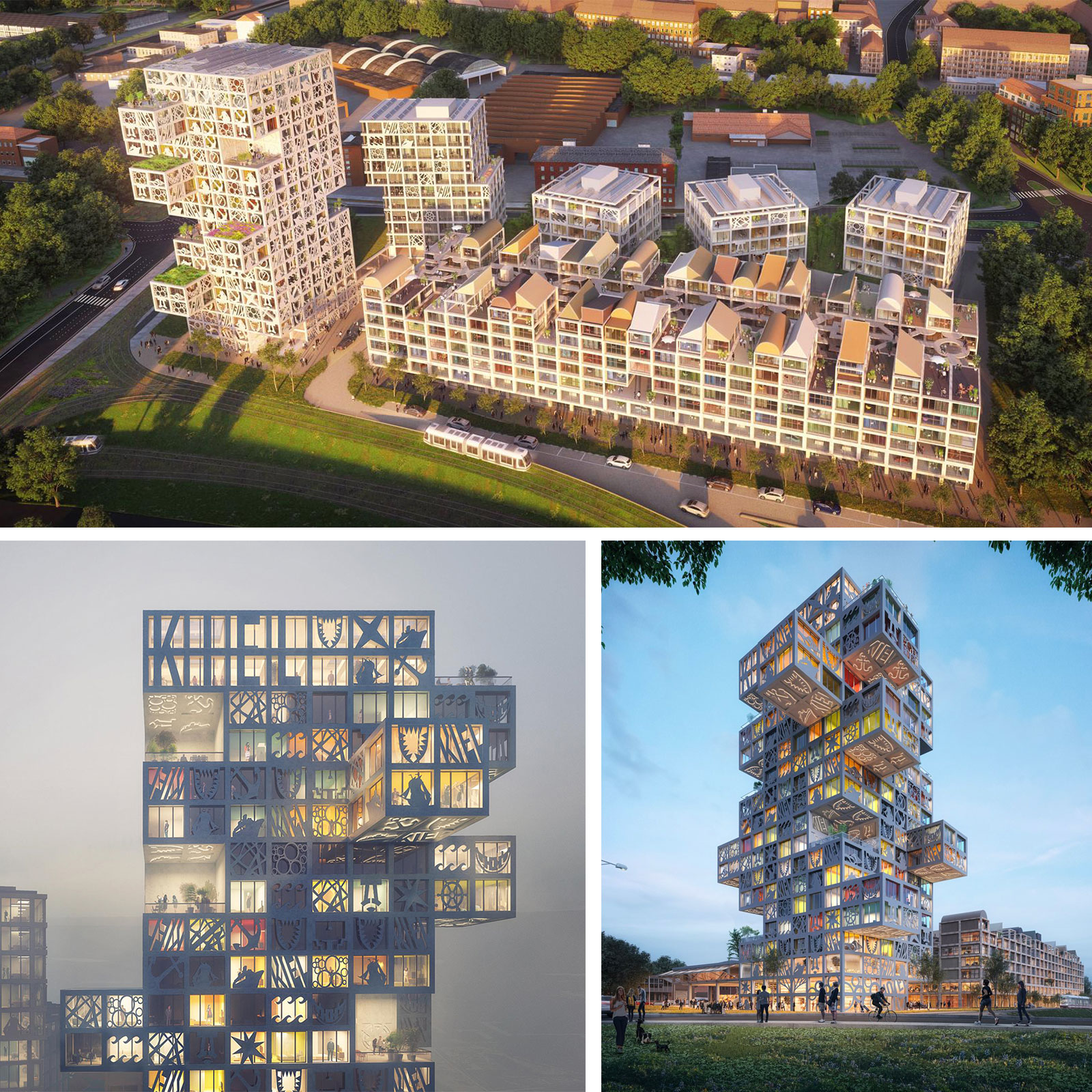 Proposed 'KoolKiel' development by MVRDV