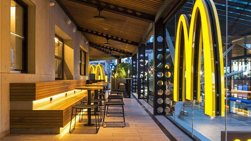 ▲ McDonald's makes up 17 per cent of the property's rental income.