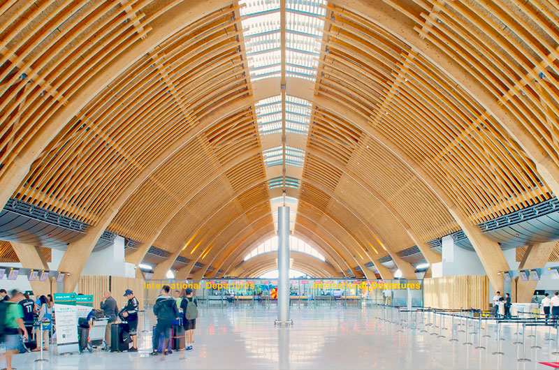 Completed Building Transport: Integrated Design Associates - MACTAN CEBU INTERNATIONAL AIRPORT TERMINAL 2, Cebu, Philippines