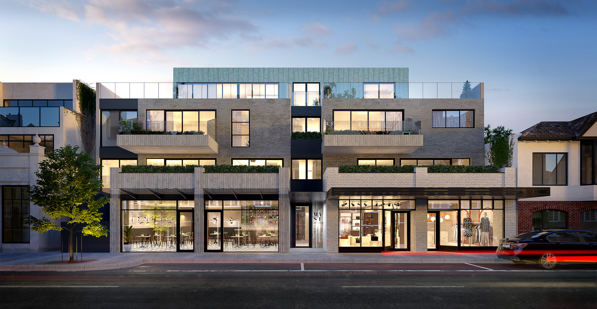 Mast Brighton is being developed by Graceland and LOI Projects and designed by The Buchan Group