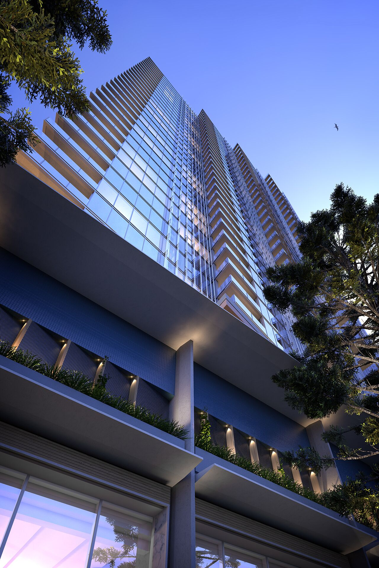 Signature Broadbeach, due for completion in late 2020, will feature a 50-metre infinity edge pool stretching along the northern edge of the building.